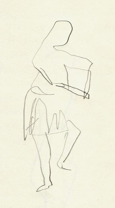 Urab man dancing